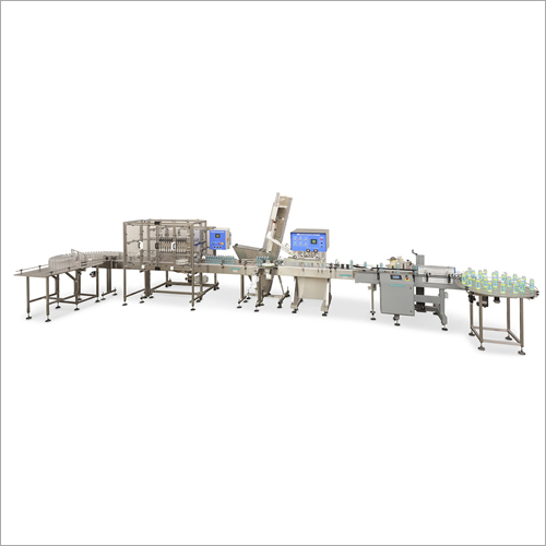 Industrial Liquid Filling Plant And Machine