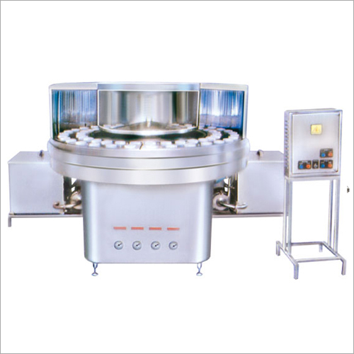 Liquid Glass Filling And Washing Machine
