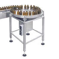 Turn Table Liquid Filling Machine