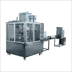 Automatic Rotary Station Bottle Rinsing Fillling And Capping Machine