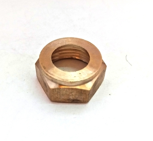 Brass Threaded Hex Nut