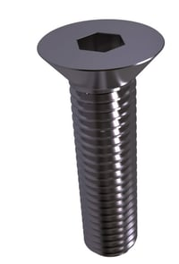 100 degree Flat Head Machine Screw