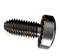 Serranation Pan Head Machine Screw