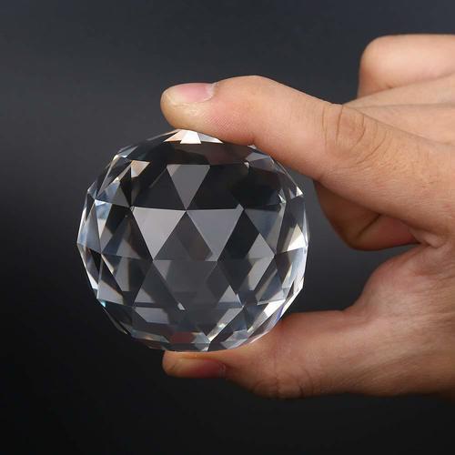 Kebica 50mm Prism Cut Crystal Glass Ball