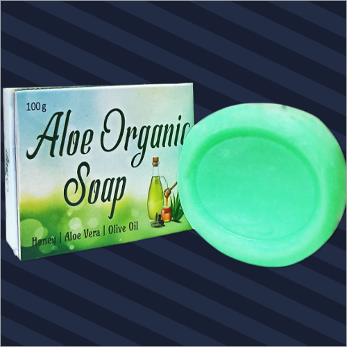 100gm Aloe Organic Soap