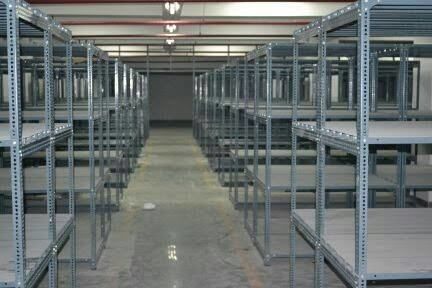Metal Open Slotted Angle Racks