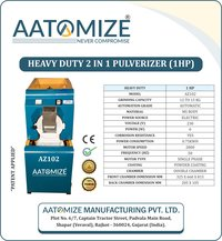 1HP ms pulverizer machine (AZ102)