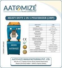 2 HP Micro Grinding Pulverizer (AZ201)