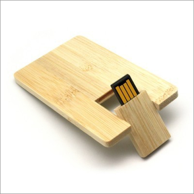 Wooden Card USB Drive