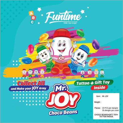 Mr Joy Choco Beans