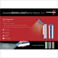 Folding Book Light with Torch