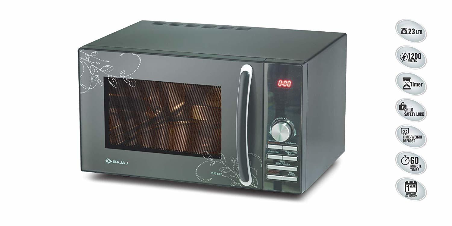 Bajaj 23 L Convection Microwave Oven (2310 ETC)