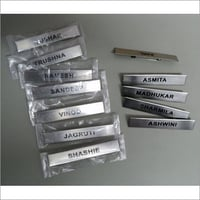 Stainless Steel Name Badges