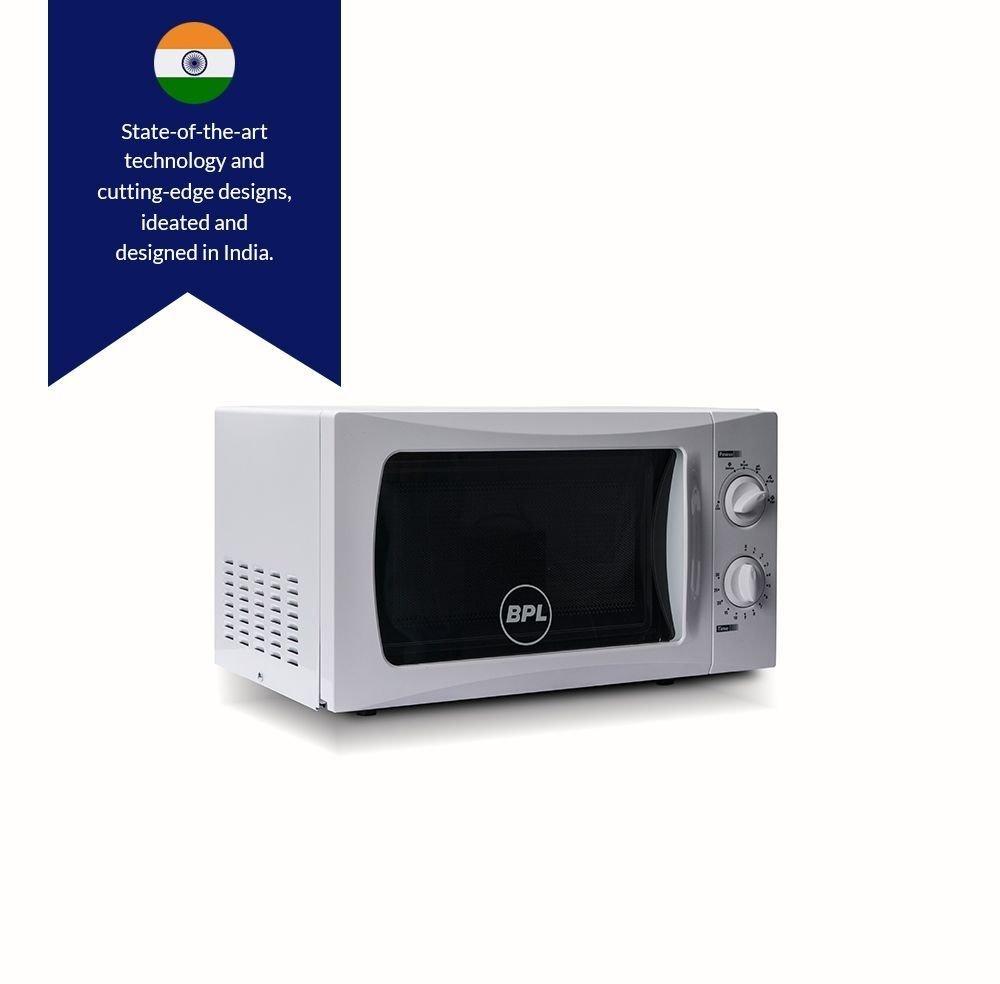 BPL 20 L Solo Microwave Oven (BPLMW20S1G, White)