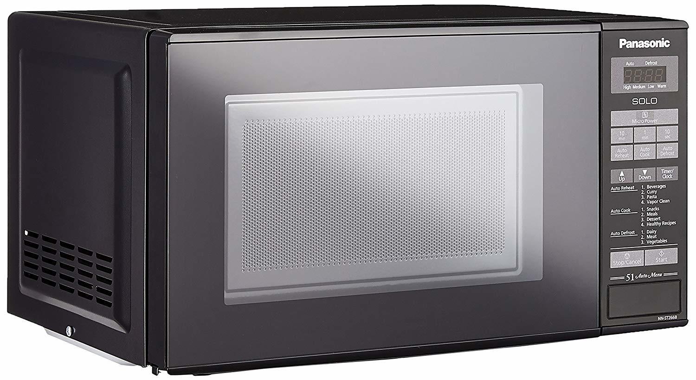 Panasonic 20 L Solo Microwave Oven (NN-ST266BFDG, Black)