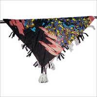 Ladies 40 x 40 Inches Fancy Poly Cotton Scarves