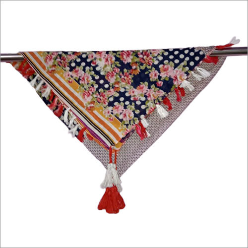 Ladies 40 x 40 Inches Stylish Poly Cotton Scarves
