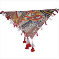 Ladies 40 x 40 Inches Printed Poly Cotton Scarves