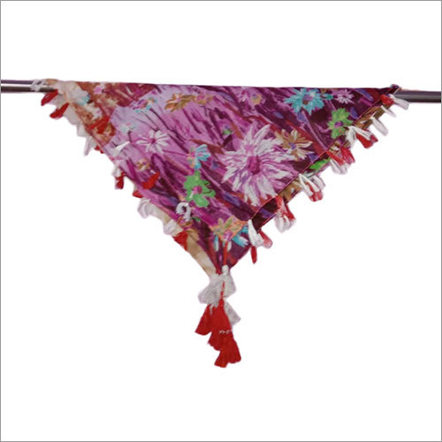 Ladies 40 x 40 Inches Printed Designer Poly Cotton Scarves
