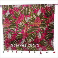 Ladies 28 x 72 Inches  Chiffon Scarves