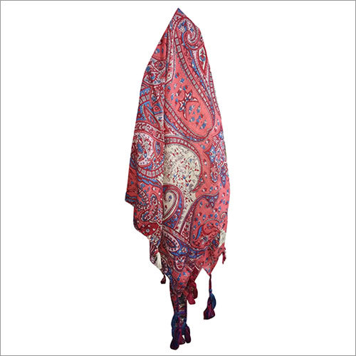 Ladies 40 x 40 Inches Stylish Square Scarves