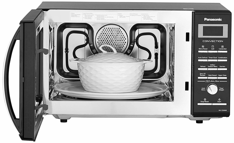 Panasonic 27 L Convection Microwave Oven (NN-CD684BFDG, Black)
