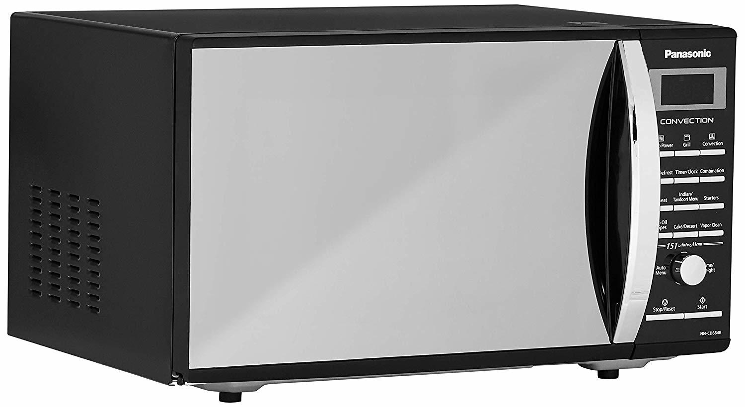 Panasonic 27 L Convection Microwave Oven (NN-CD684BFDG, Black)