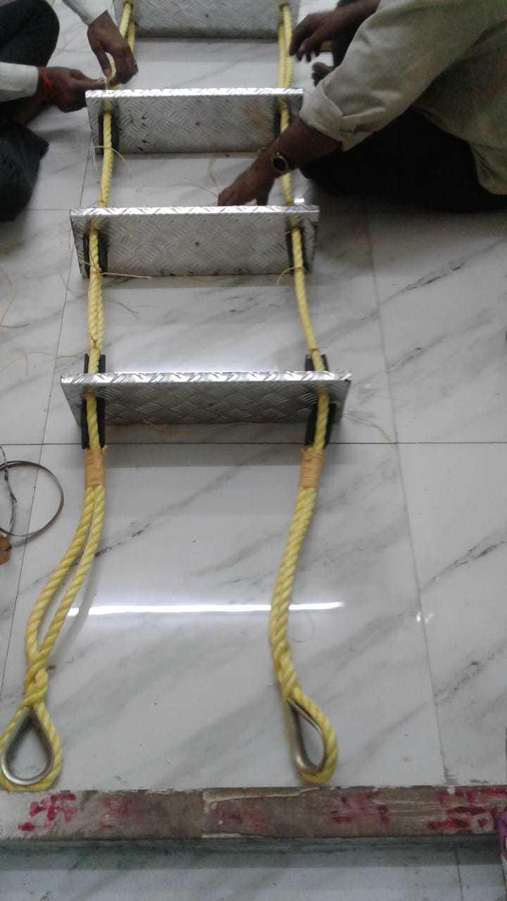 Aluminium Step Rope Ladder