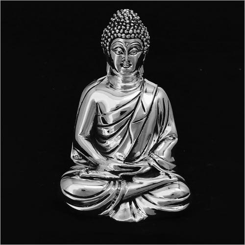 Buddha Silver Statue