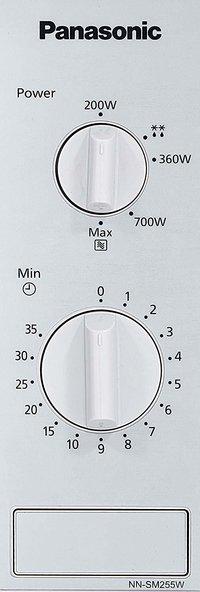 Panasonic 20 L Solo Microwave Oven (NN-SM255WFDG, White)