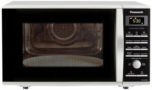 Panasonic 27 L Convection Microwave Oven (NN-CD674MFDG, Sliver) (Silver)