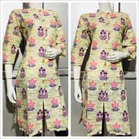 Ladies Designer Print Kurti