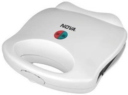 Nova NSM 2412 2 Slice Sandwich Maker Toast  (White)