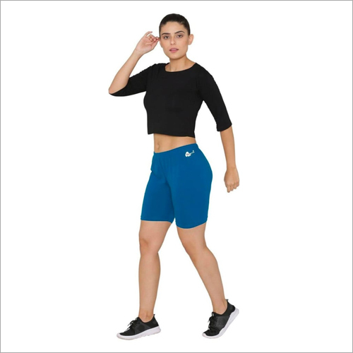 Ladies Cotton Lycra Shorts