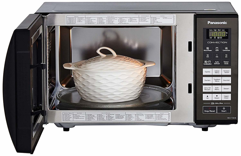 Panasonic 23 L Convection Microwave Oven (NN-CT36HBFDG, Black)