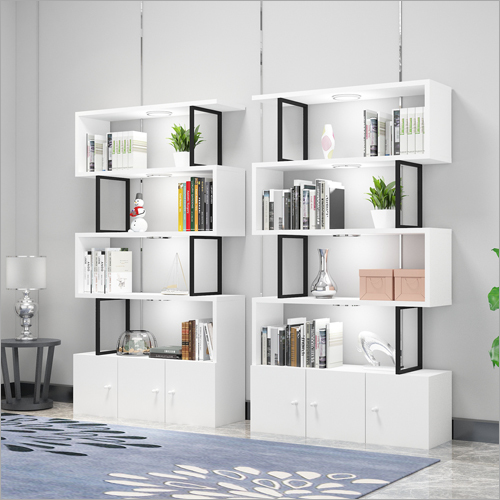 Modular Wooden Display Shelf