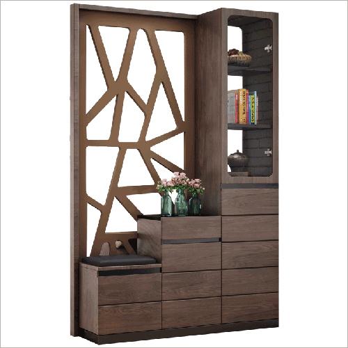 Designer Wooden Display Shelf