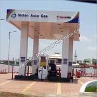 Auto Gas Canopy