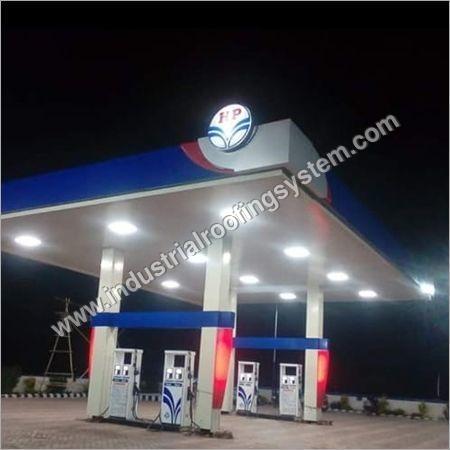 HP Petrol Pump Canopy