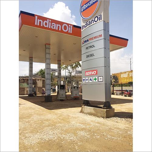 BPCL Petrol Pump Canopy