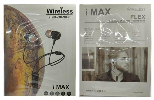 IMAX Bluetooth Wireless HD Quality Bluetooth HEadset