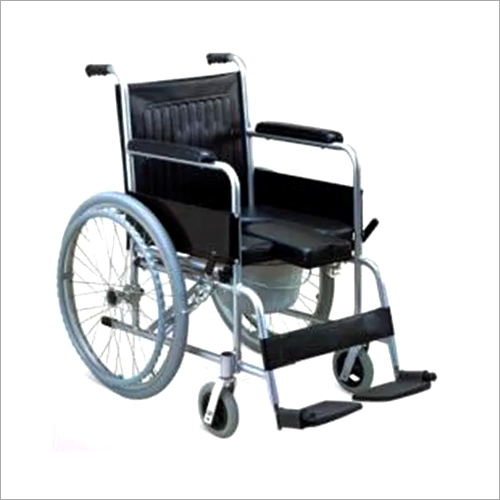 IMI-790 WHEELCHAIR with Commode, (Fold able) Adult.