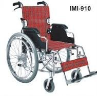 IMI-910 WHEELCHAIR  Adult Folding With Aluminum Frame
