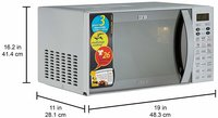 IFB 25 L Convection Microwave Oven (25SC4, Metallic Silver)