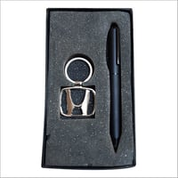 Key Ring With Pen Gift Set