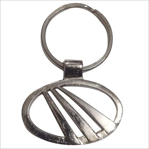 Four Wheeler Metal Key Ring