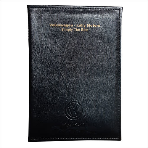 Car Document Leather Pouch