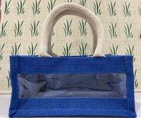 Medium gift single panel jute bags