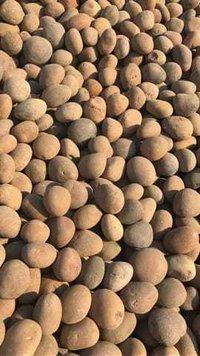 High hardness round ceramic media stone pebbles