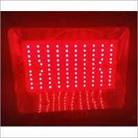 Red 50 Watt LED Flood Light